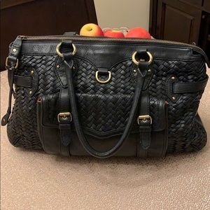 Cole Haan Black Leather Handbag